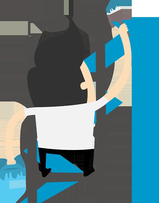 ladder-man